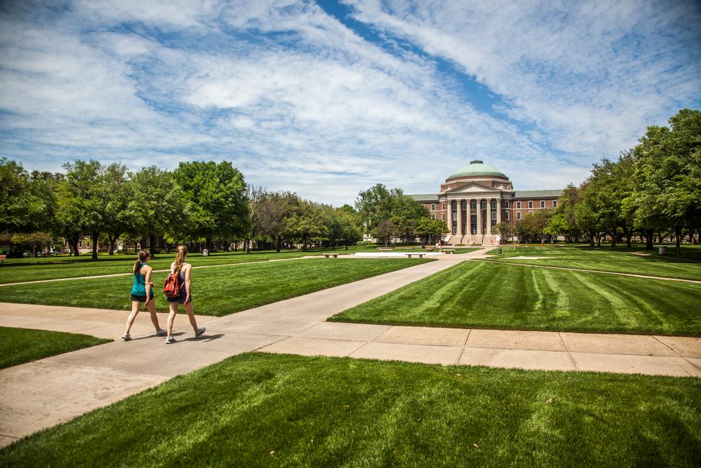 Dedman College Quad